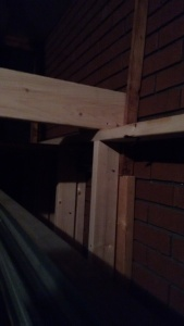 Joist for kayak storage